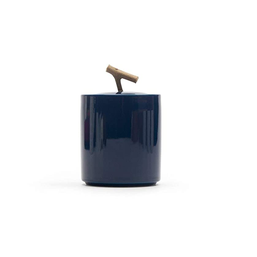 定常子供時代彫刻火葬の壷 小さなキープセイク 美しい 埋葬の壷 のために 人間の灰 または ペット セラミックス骨壷 強いシーリング 6.9×10.3cm