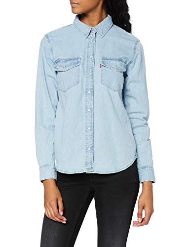 Levi's Essential Western Blusa  Blue (Cool out (2) 0001)  S para Mujer