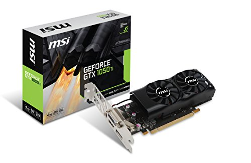 MSI Low Profile Compatible Graphics Cards GeForce GTX 1050Ti 4GT LP