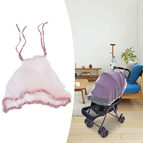 01 Baby Net, Net Reutilizable para Exteriores para el hogar para Viajes(Pink)
