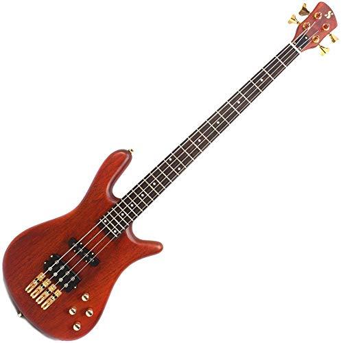 SX SWB1 Warwick Jazzman Stijl Actieve Bass Gitaar - Natuurlijke