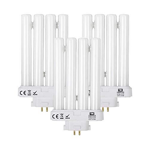 TBE Lighting 27w PLS 3-Pack of Energy Saving Daylight Bulbs for High Vision...