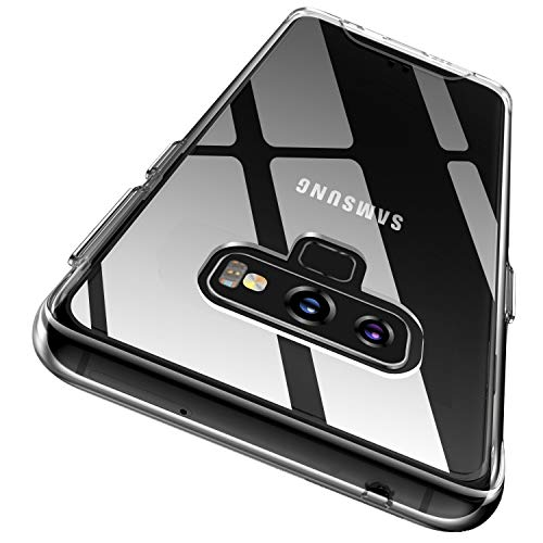 Rayboen Case for Samsung Galaxy Note 9, Crystal Clear Designed...