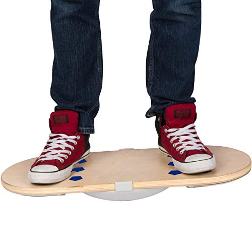 Casper Boards - Standing Desk Balance Board & Under Desk Foot Rest, 2 Boards in 1, Ergonomic Design & Anti Fatigue Grip Pads Helps You Stay Active, Burn More Calories, Improve Focus