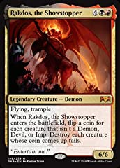 A single individual card from the Magic: the Gathering (MTG) trading and collectible card game (TCG/CCG). This is of Mythic Rare rarity. From the Ravnica Allegiance set.