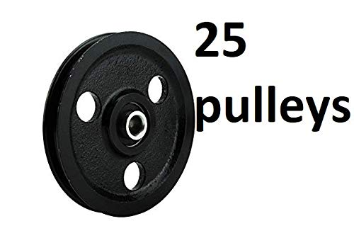Best Prices! Garage-Door-Pulley-Cast-Iron 25 Pulley