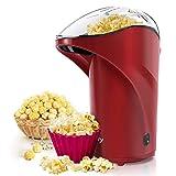 Vsadey Macchina per Popcorn - Popcorn Popper Compatta ad Aria Calda Senza Olio e Grassi, 1...