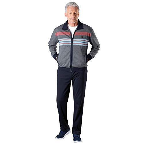 hajo Homewear men Herren-Freizeitanzug Interlock-Jersey Marine Größe 52/54