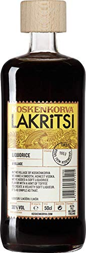 KOSKENKORVA LAKRITSI Lakritz-Schnaps 0,5 l Glasflasche