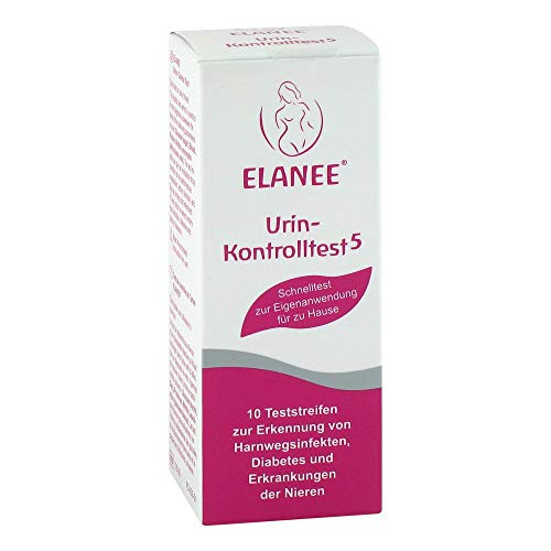 ELANEE Urin-Kontrolltest 5 10 St Teststreifen