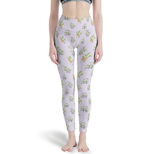 WJunglezhuang joggingbroek sport yoga pants dames capribroek voor stretch
