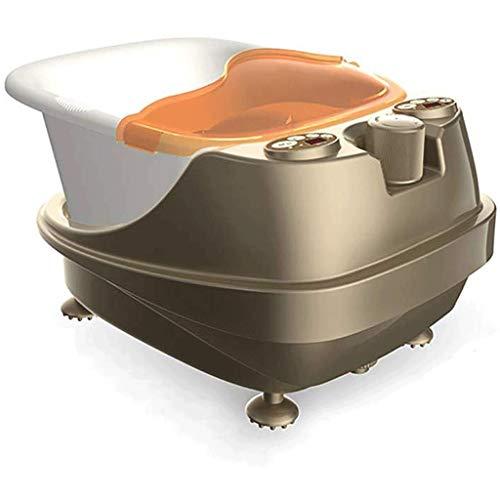 FFLJT Fußbad Automatische Massage Fußwaschung Elektroheizung Fußbad Einweichen Becken Fußbad Barrel Fuß tief