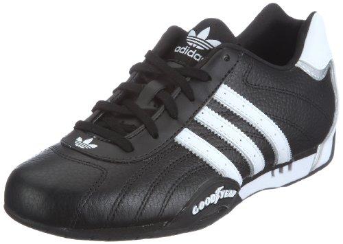 adidas Originals ADI RACER LOW G16082, Herren Sneaker, Schwarz (BLACK1/WHT/M), EU 43 1/3