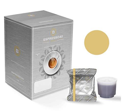 CAFFE' BARBARO Napoli Espresso 4.0 Compatibile Illy iperespresso miscela ORO caffe BARBARO 80 pz