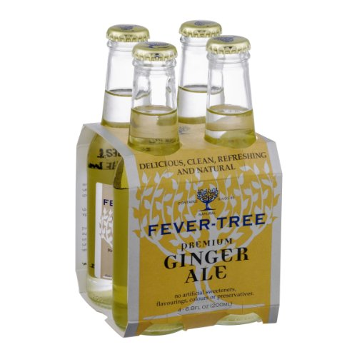 Fever Tree Soda 4pk Ginger Ale