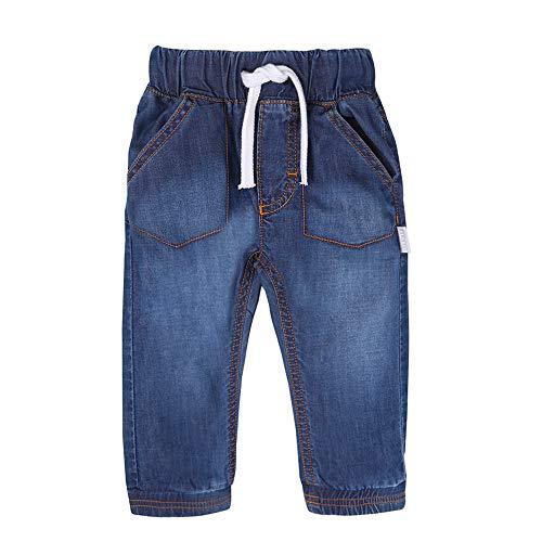 STUMMER Baby Mini Boys Jungen Hose/Jeans, blau, Denim, Größe 74, 9 Monate