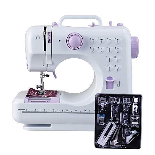 Mini Elektrische Naaimachine Crafting Herstelmachine met Voetpedaal, Leuke Makkelijk Te Gebruiken Draagbare Naaimachine voor Beginners Professioneel Reizen Thuisgebruik