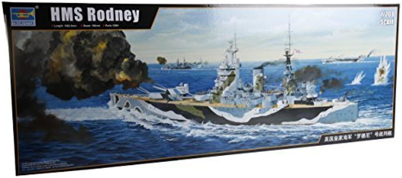 contador genuino TRP03709 1 200 Trumpeter HMS Rodney [MODEL BUILDING KIT] KIT] KIT] by Trumpeter  forma única