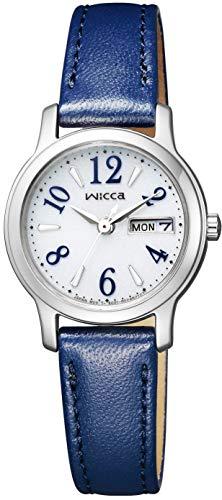 [シチズン] 腕時計 ウィッカ ソーラーテック KH3-410-10 レディース ブルー