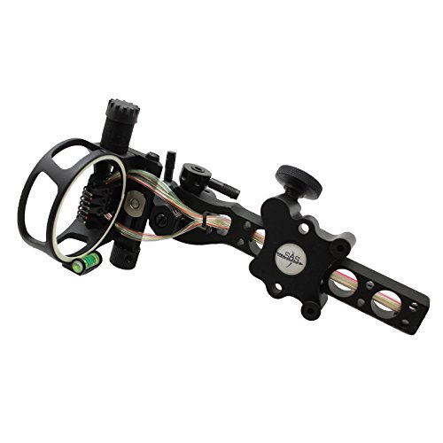 Southland Archery Supply SAS 7 pins .019' Bow Sight with Micro Adjust Detachable Bracket LED Sight...