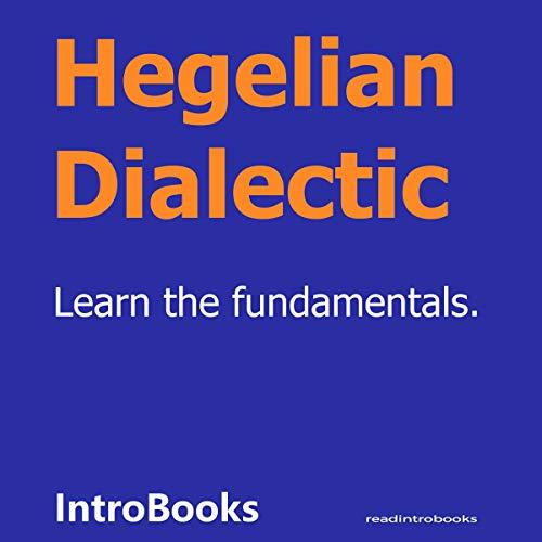 Hegelian Dialectic cover art