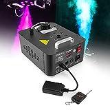 Machine à fumée verticale - LEDs RGB - DMX - Telecommande - 900W - Ibiza Light FOG900-RGB