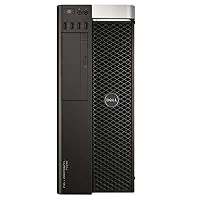 Dell Precision T5610 Workstation, 2 Intel 6-Core CPUs, 32GB RAM, 1TB SSD, 2TB HDD, V4900 GPU (Renewed)