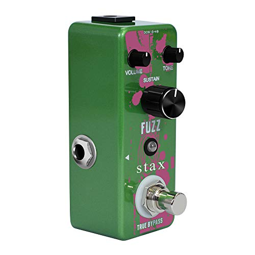 Stax Guitar Fuzz Pedal Special Analog Fuzz Effect Pedals For Electric Guitar Plump And Rich Mini Size Wtih True Bypass