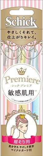 シック ジャパン プレミア敏感肌用まゆ用Lディスポ 3本入