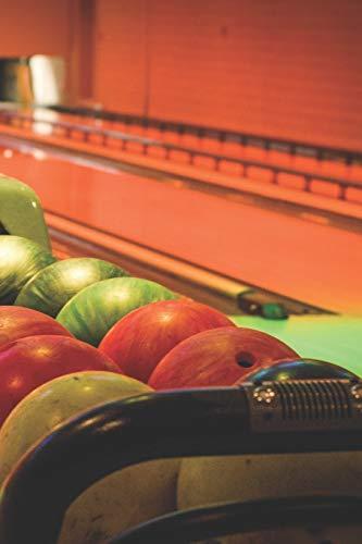 Bowling Scorebuch: Trainingstagebuch für dein Bowlingtraining und deine Bowlingspiele ♦ Führe Protokoll, notiere jeden Strike, Spare und deine ... 6x9 Format ♦ Motiv: Bowlingabend