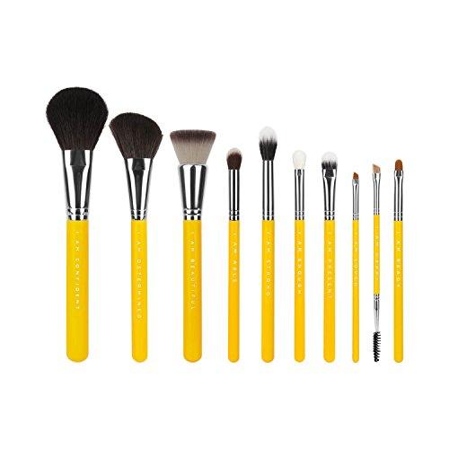 Bdellium Tools Professional makeup Brush studio Line i AM First 10PC. Set di pennelli con Portapennelli [Limited Edition]