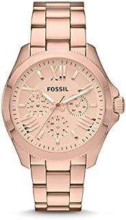 ساعة فوسيل سيسيل للنساء- بالالوان الذهبي والردي AM4511