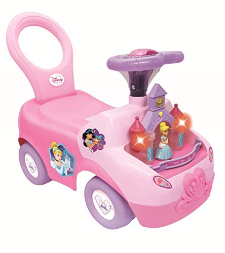 Kiddieland Toys 4 in 1 Disney Princess Activity Ride On