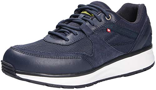 JOYA Zapatos de cordones para hombre, color azul, color Azul, talla 47.5 EU X-Weit
