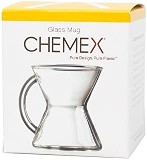Chemex 10 Ounce Handblown Glass Coffee Mug by Chemex
