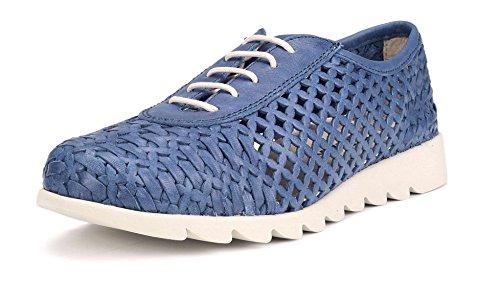 The Flexx Over Drive Zapato Mujer Azul Vaquero 38.5