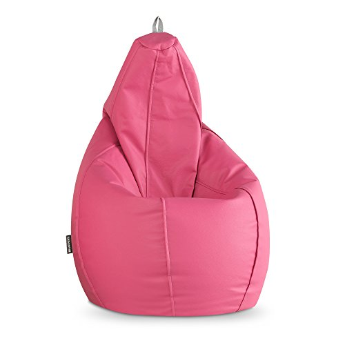 HAPPERS Puff Pera Polipiel Indoor Fucsia XL