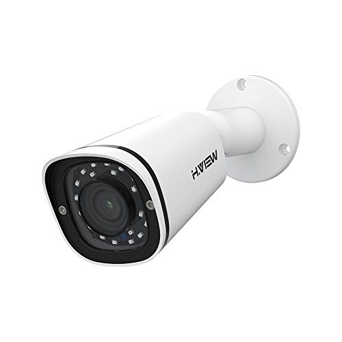 H.VIEW IP POE Security Camera 5MP with 2.8mm Lens Super HD Surveillance...