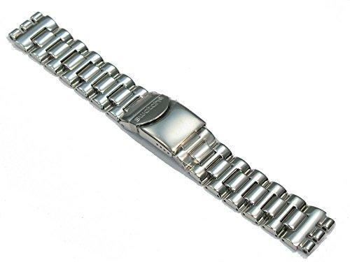 Swatch Ersatzband I-Chrono Edelstahl 19mm (AYCS010G)