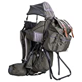 ClevrPlus Urban Explorer Child Carrier Hiking Baby Backpack Olive Green