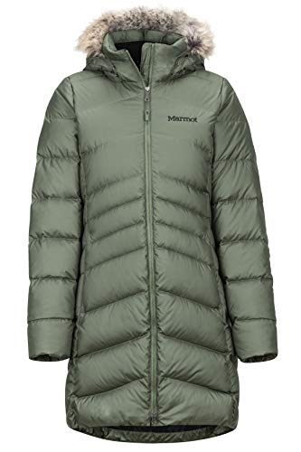 Marmot Damen Wm's Montreal Coat' Leichte Daunenjacke, 700 Fill-Power, Warmer Parka, Wintermantel, Wasserabweisend, Winddicht, Crocodile, L