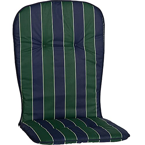 beo MS06 Kos MH - Cuscino monoblocco per sedie impilabili, circa 44 x 96 cm, spessore circa 2,5 cm