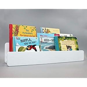Bücherregal für Kinder weiß – Kinderregal – Wandregal – skandinavisch