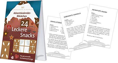 X-Mas Adventskalender-blokjes 24 lekkere snacks