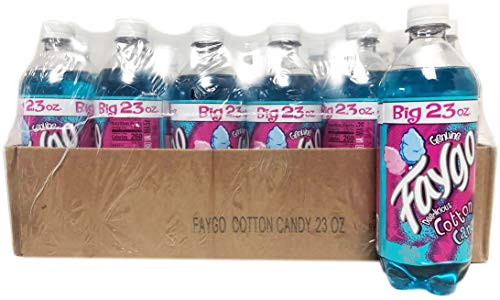 Faygo Cotton Candy 24 Pack