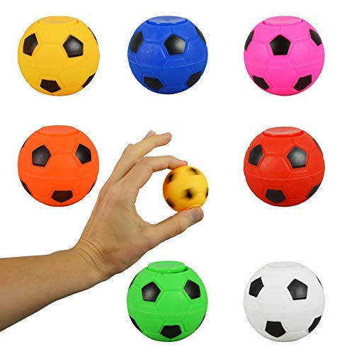 Entervending 2'' Fidget Spinner Balls Bulk 7 Different Colored Balls in Bulk (7 pcs)