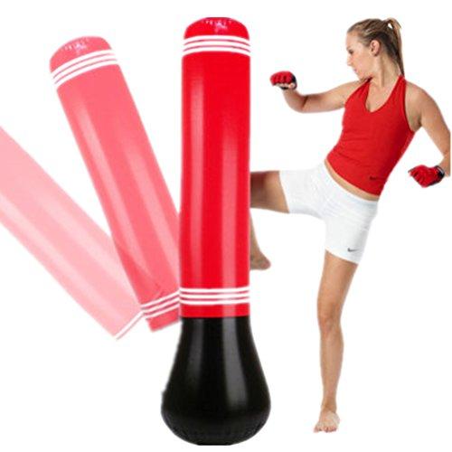 BF-Punchingbag BigForest Aufblasbare Boxsack St?nder Power Tower Stanz Staubbeutel Speed Boxen Training Inflatable Pro Bag