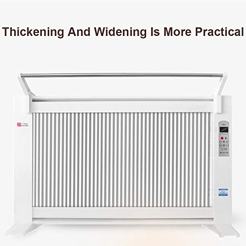 GFYL Flächenheizung, Konvektionsheizung 1600 W, Heizkörper mit einstellbarem Thermostat für den Innenbereich, ideal für einen Raum von 300 m², freistehend oder zur Wandmontage,2200W