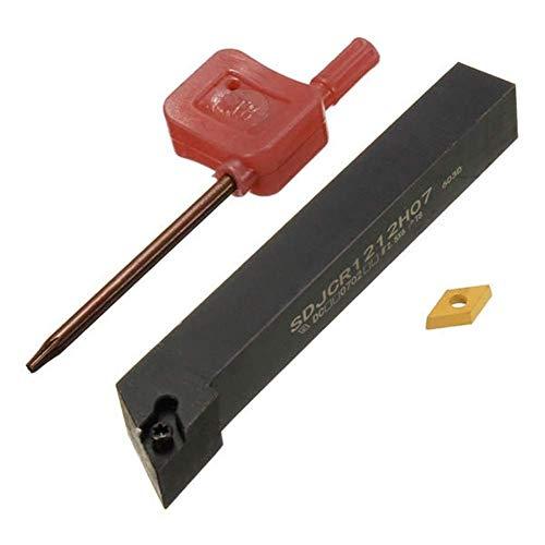 ZGQA-GQA 12x100mm SDJCR1212H07 Tornio Tornio Portautensili Antivari Con Un DCMT0702 Inserto Utensili da Taglio