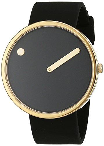 Rosendahl Unisex Analog Quarz Uhr mit Kautschuk Armband 1010398510